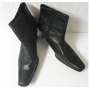 Bass Leather Boots Size 9.5